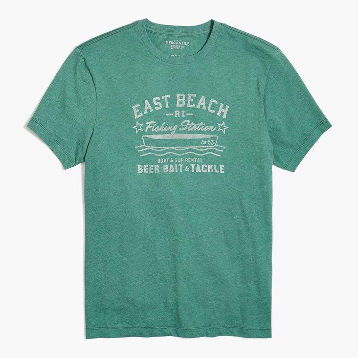 画像1: J.CREW   east beach t-shirt (1)