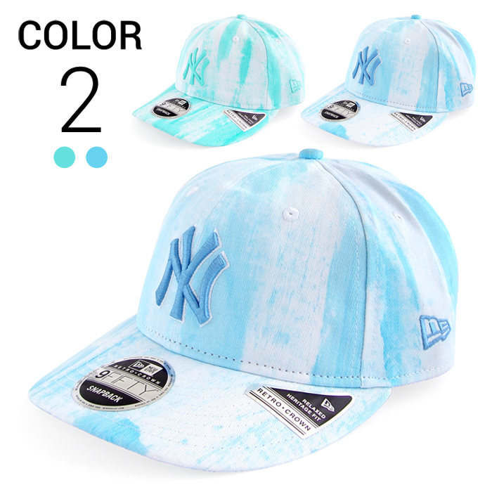 画像1: NEW ERA  snapback MLB cap New York Yankees 9FIFTY 2color (1)