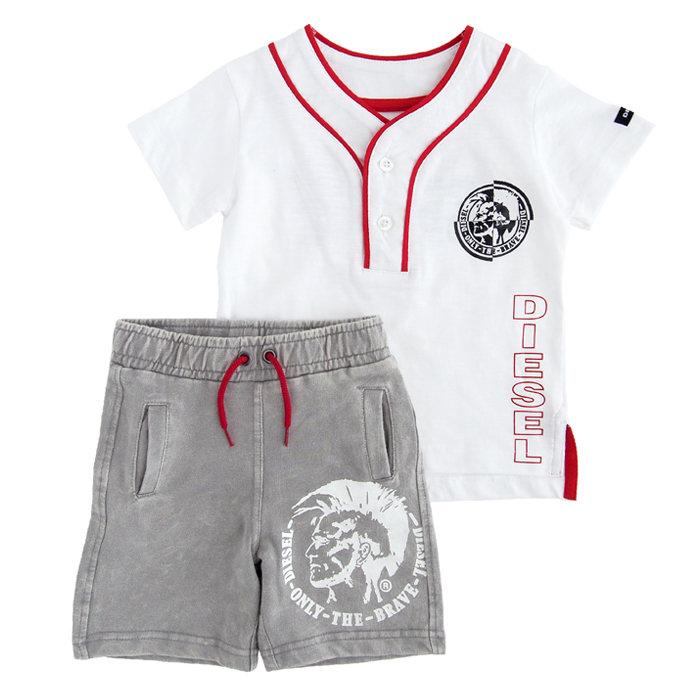画像1: DIESEL BOYS  t-shirts 2piece set (2歳) (1)