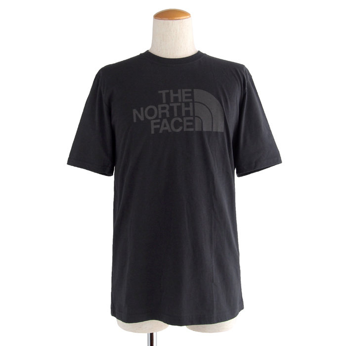 画像1: THE NORTH FACE  short-sleeve half dome tee BK (S) (1)