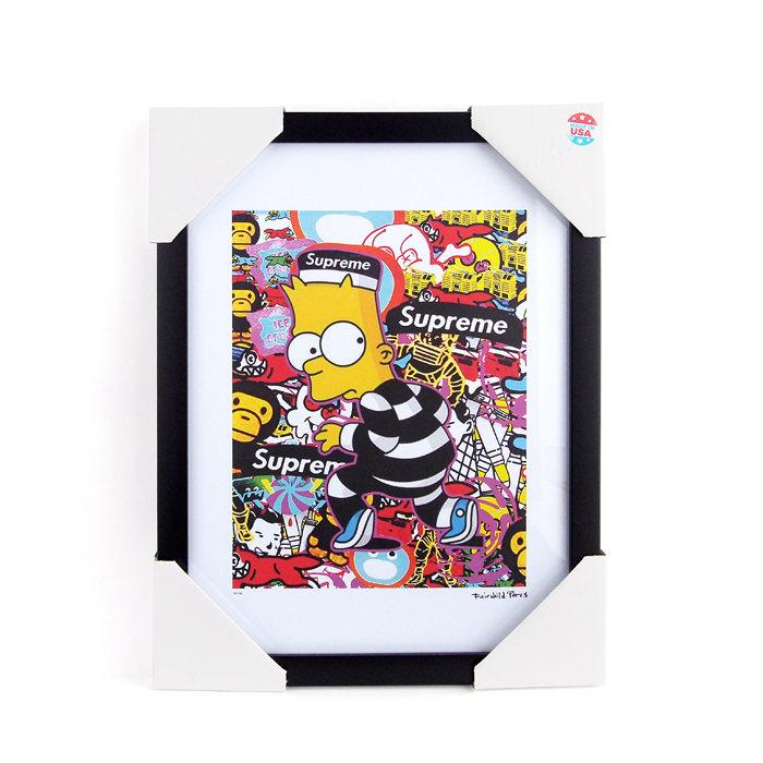 画像1: Fairchild Paris  Supreme × The Simpsons × A BATHING APE art poster frame (1)
