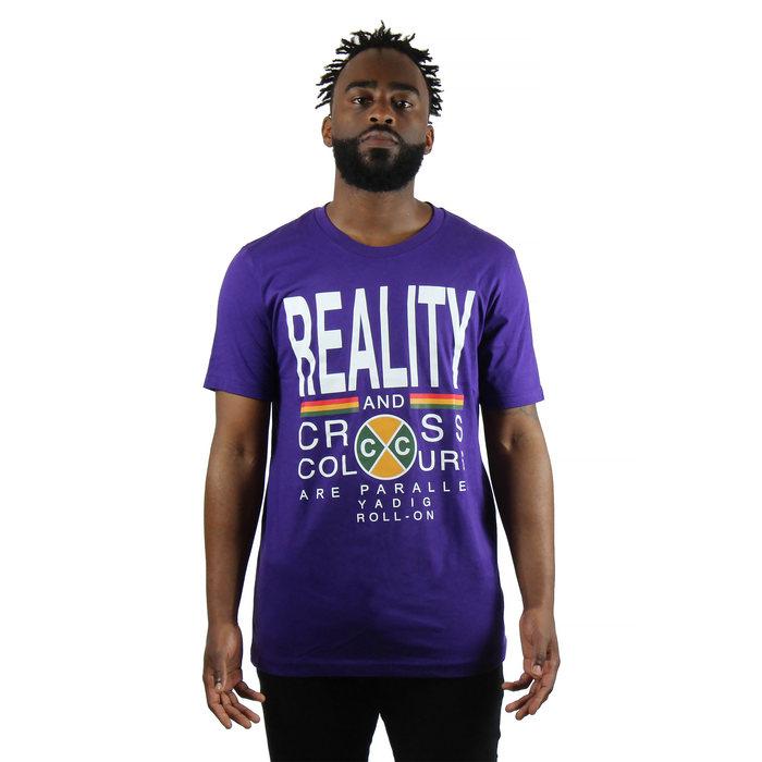 画像1: CROSS COLOURS   REALITY T-Shirt (1)