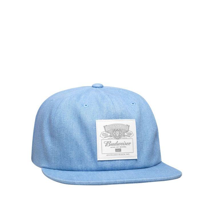 画像1: HUF x Budweiser Label  6-Panel Hat (1)