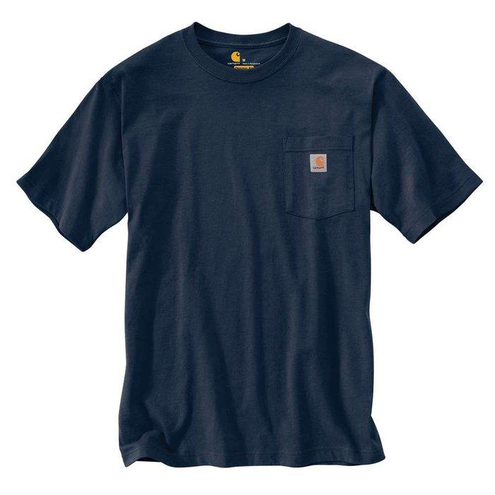 画像1: Carhartt   workwear pocket t-Shirt (Irregular) (1)