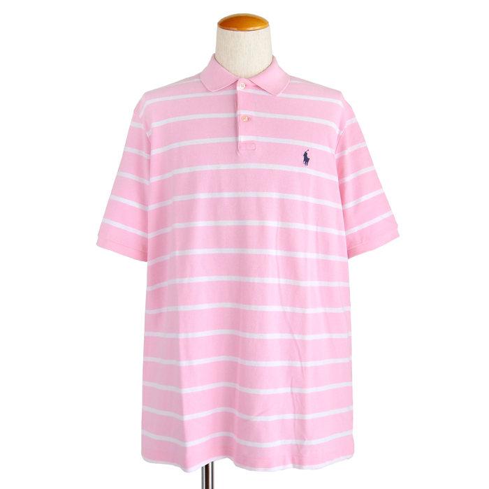 画像1: POLO RALPH LAUREN MEN  classic fit striped polo (L) (1)