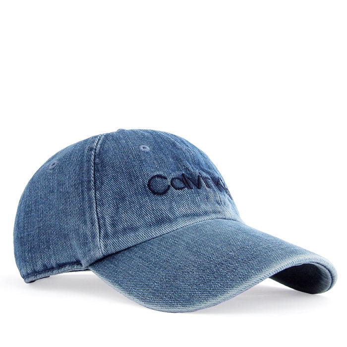 画像1: Calvin Klein  signature wash denim cap (1)