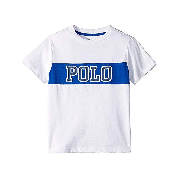 画像1: POLO RALPH LAUREN BOYS   cotton jersey graphic t-Shirt (BOYS L-XL) 2color (1)