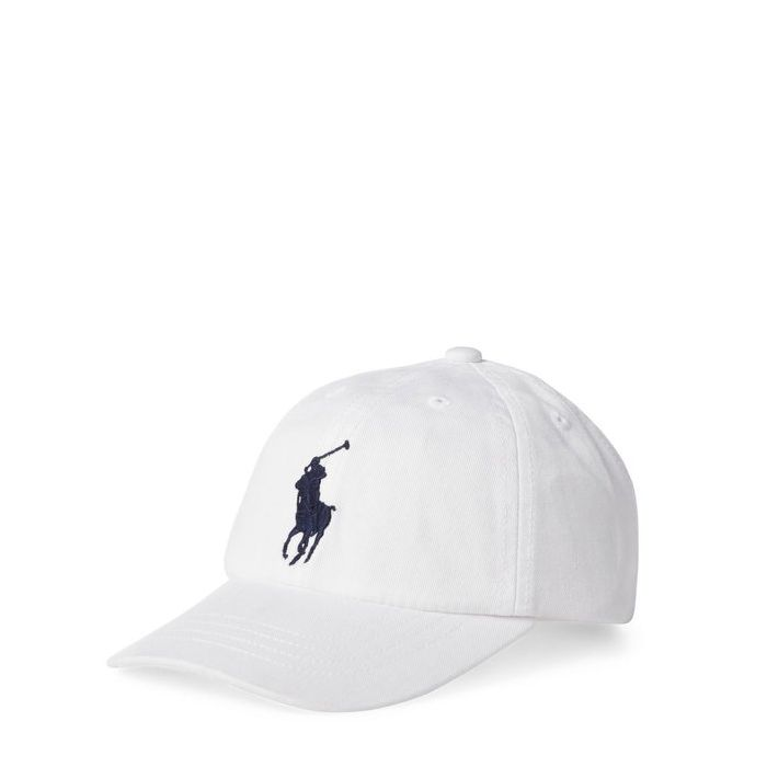 画像1: POLO RALPH LAUREN BOYS   big pony base ball cap  (1)