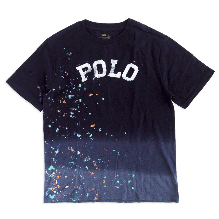 画像1: POLO RALPH LAUREN BOYS  Ombre Cotton T-Shirt (6-9カ月)  (1)