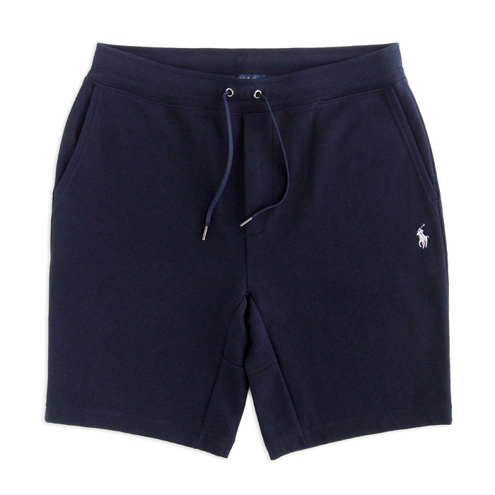 画像1: POLO RALPH LAUREN   double-knit active shorts NAV (S) (1)
