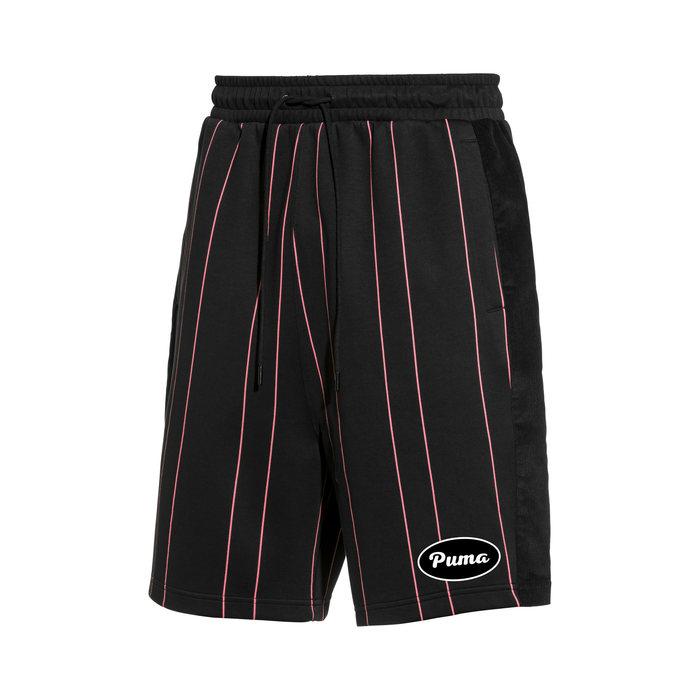 画像1: PUMA   91074 striped shorts (M) (1)