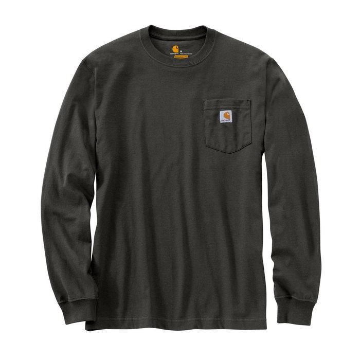 画像1: Carhartt   long-sleeve workwear pocket t-shirt (Irregular) (1)