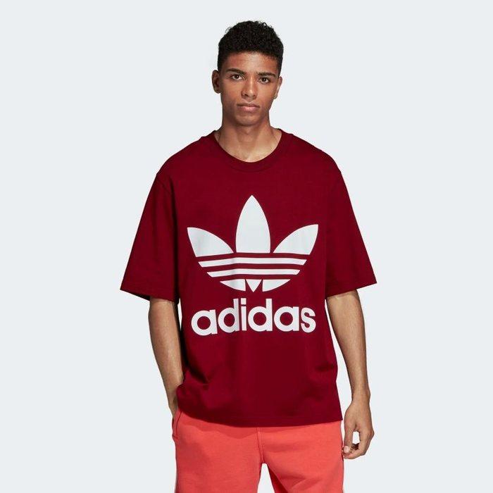 画像1: adidas Originals   trefoil oversize tee (L) (1)
