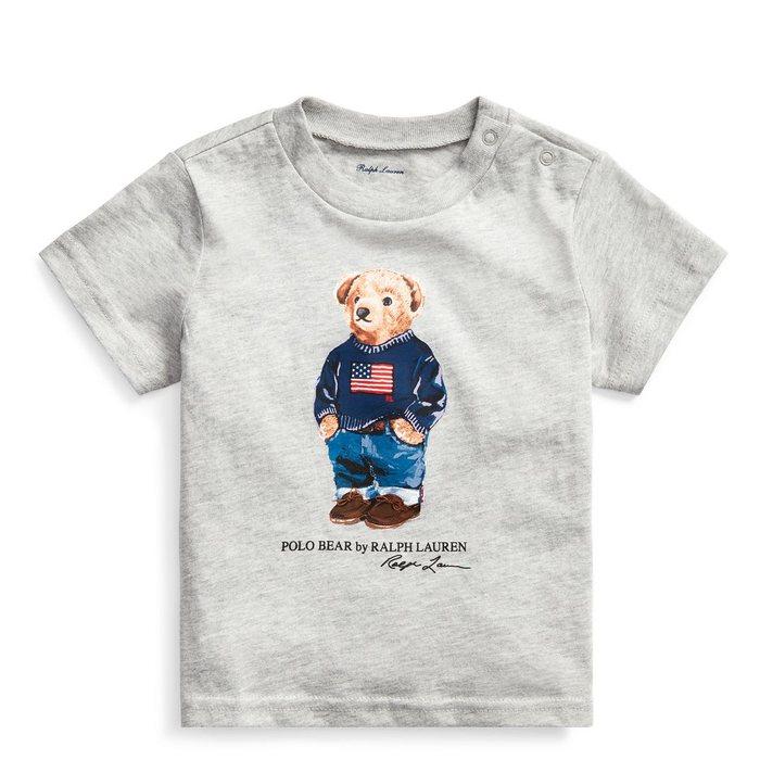 画像1: POLO RALPH LAUREN BABY   polo bear cotton t-shirt  (1)