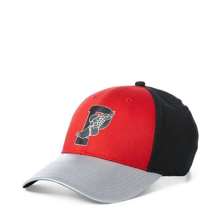 画像1: POLO RALPH LAUREN   color-blocked P-wing cap  (1)