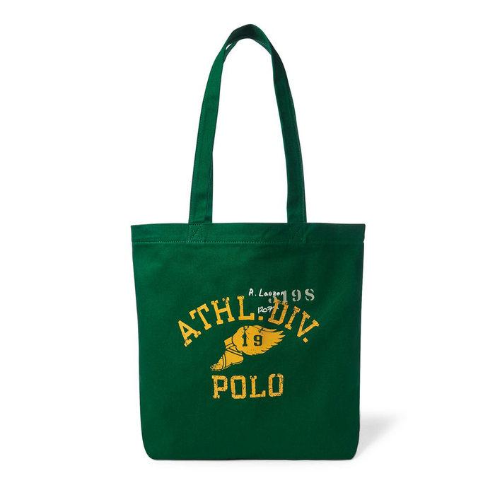 画像1: POLO RALPH LAUREN   athletic division cotton tote (1)