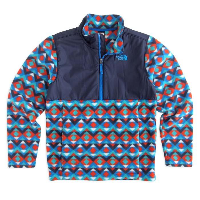 画像1: THE NORTH FACE BOYS  200 tundra fleece pullover jacket (BOYS) (1)