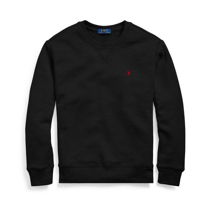 画像1: POLO RALPH LAUREN BOYS   cotton-blend-fleece sweatshirt (1)