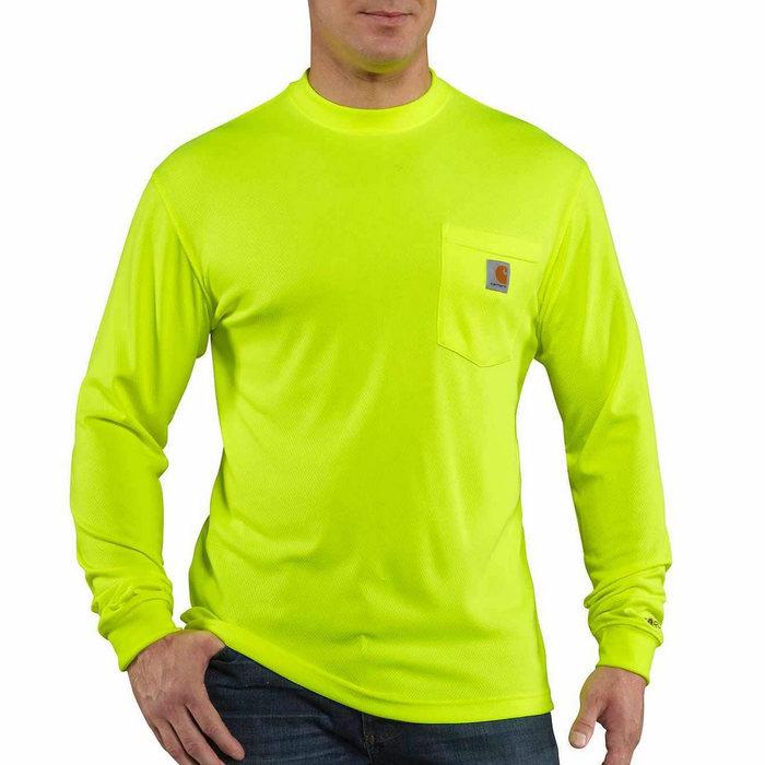 画像1: Carhartt Force   color enhanced Long-Sleeve t-Shirt (1)