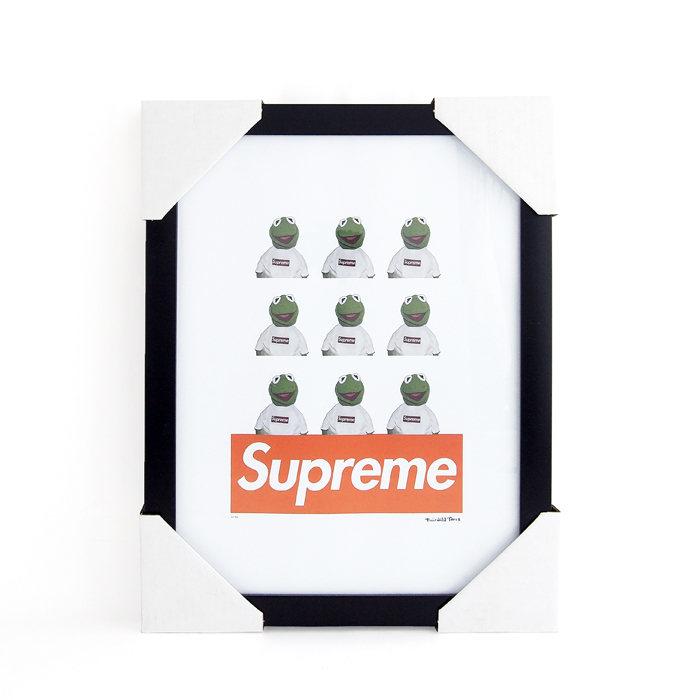 画像1: Fairchild Paris  Kermit × Supreme art poster frame (1)