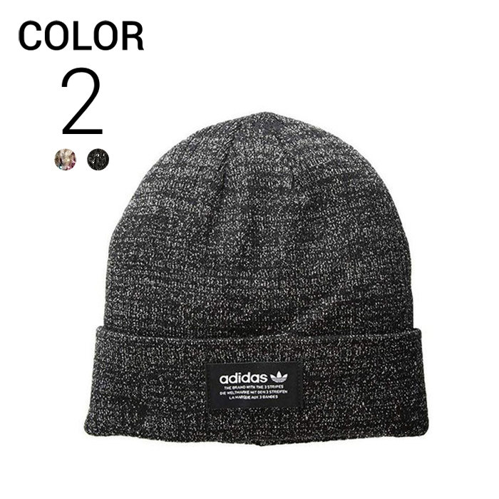 画像1: adidas Originals WOMAN FIT  trefoil rib beanie 2color (1)
