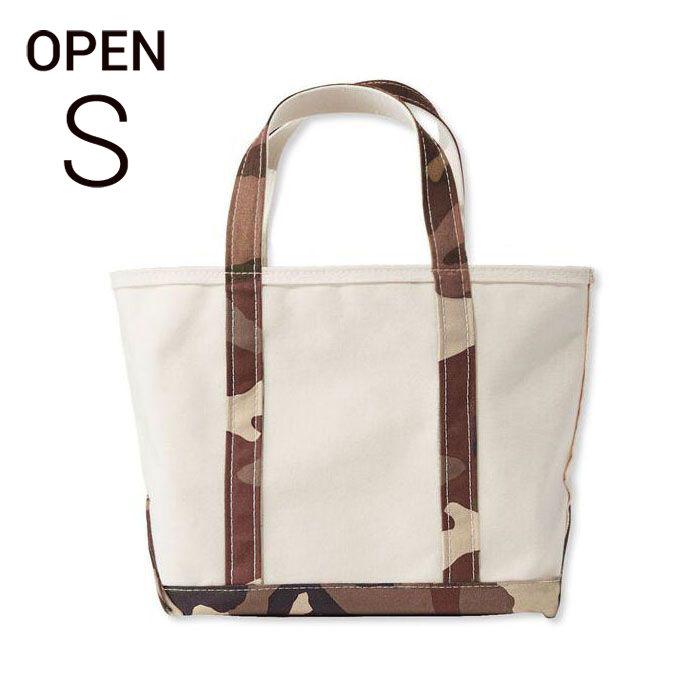 画像1: L.L.Bean boat and tote bag open-top (Irregular) regular handle S B.CAMO  (1)