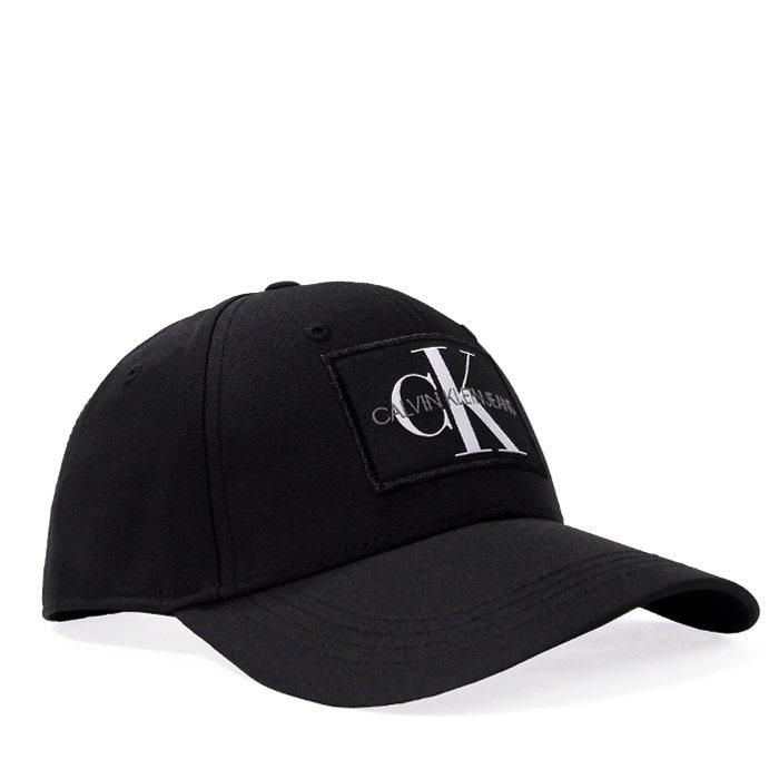 画像1: Calvin Klein Jeans  signature 6panel cap BK (1)
