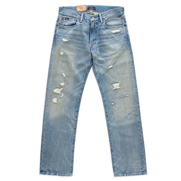 画像1: POLO RALPH LAUREN  the classic fit rigid jean (30×32) (1)