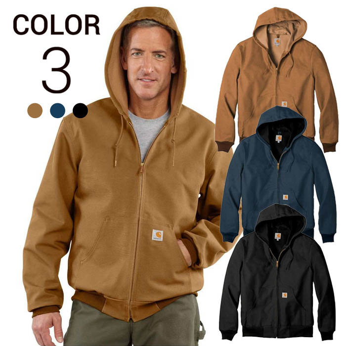 画像1: Carhartt   duck thermal active jacket  (Irregular) 3color (M-XL) (1)