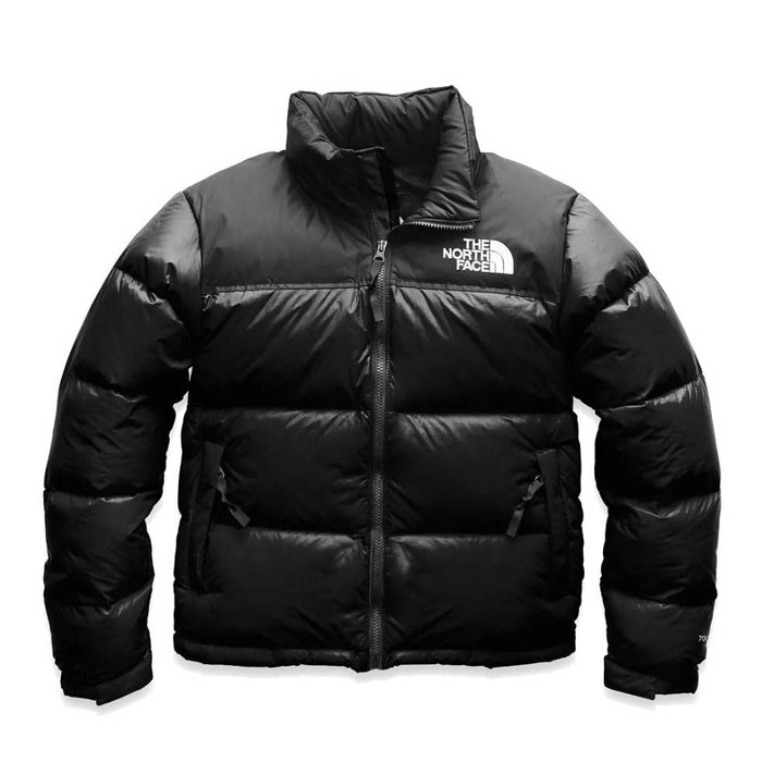 画像1: THE NORTH FACE WOMAN  1996 jumbo logo retro nuptse jacket  (1)
