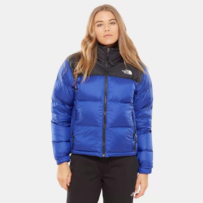 画像1: THE NORTH FACE WOMAN  1996 retro nuptse jacket  (1)