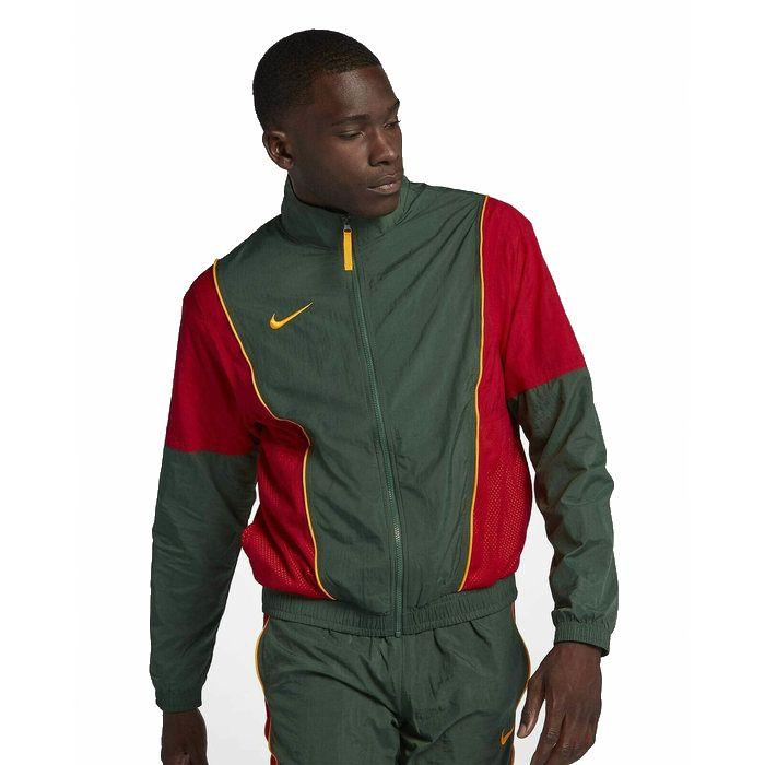 画像1: NIKE   throwback woven jacket (L-XL) (1)