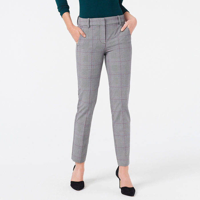 画像1: J.CREW WOMEN  slim cropped ruby pant in stretch twill (0) (1)