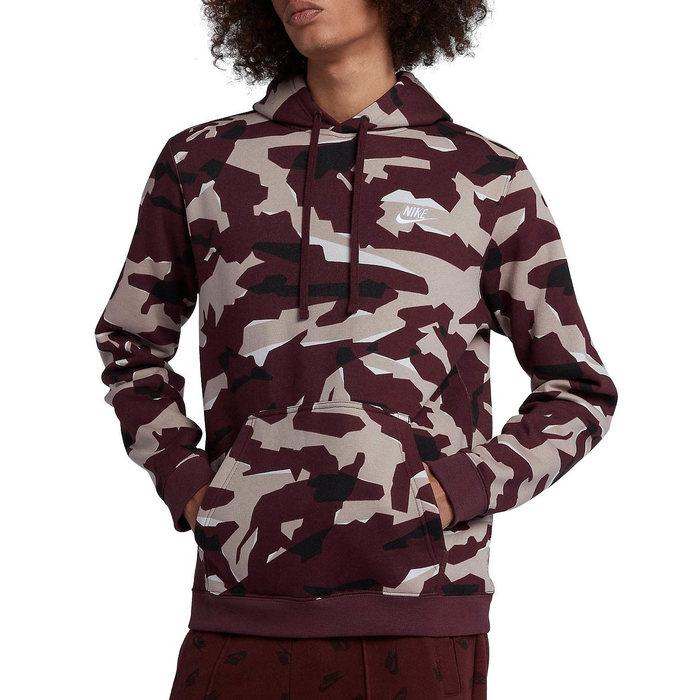 画像1: NIKE   club camo hoodie (XL) (1)