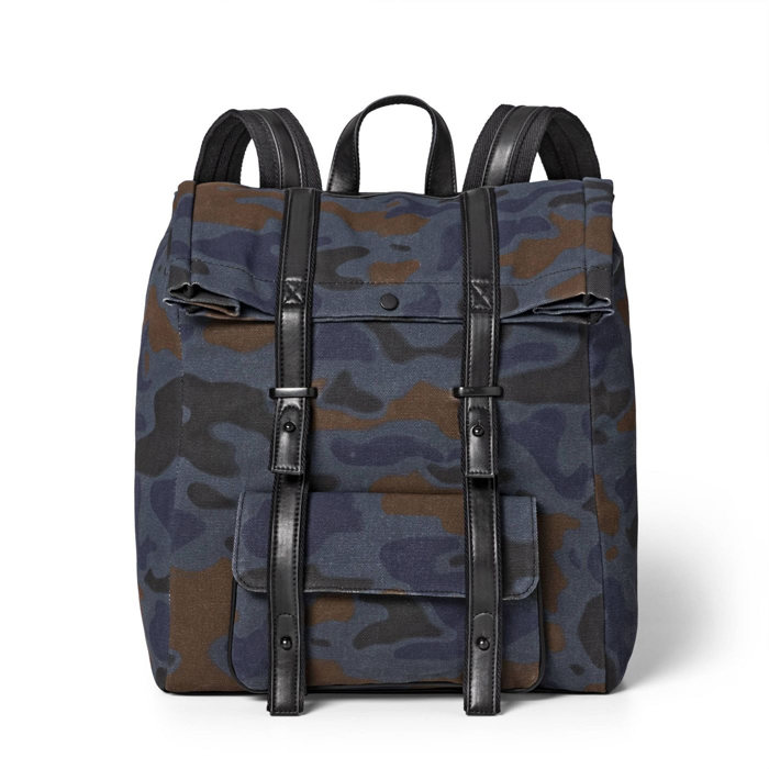 画像1: 3.1 Phillip Lim for Target  backpack BLUE CAMO (1)