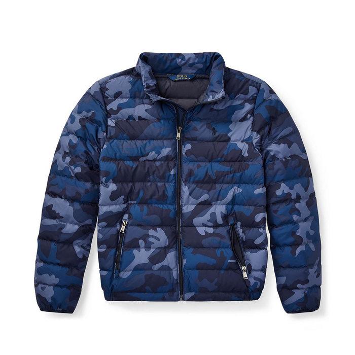 画像1: POLO RALPH LAUREN KIDS   packable camo down jacket (1)