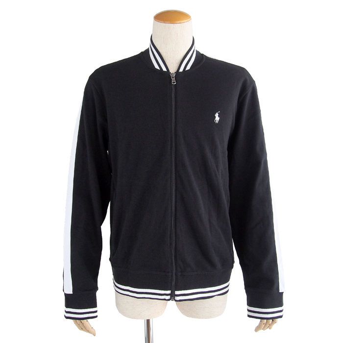 画像1: POLO RALPH LAUREN  signature varsity jacket (M) (1)