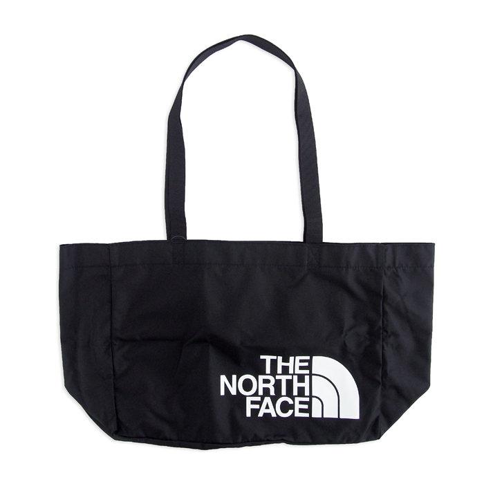 画像1: THE NORTH FACE  lg loop tote bag (M) BK (1)