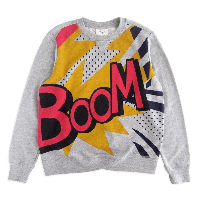 画像1: 3.1 Phillip Lim for Target  boom sweatshirt (M) (1)