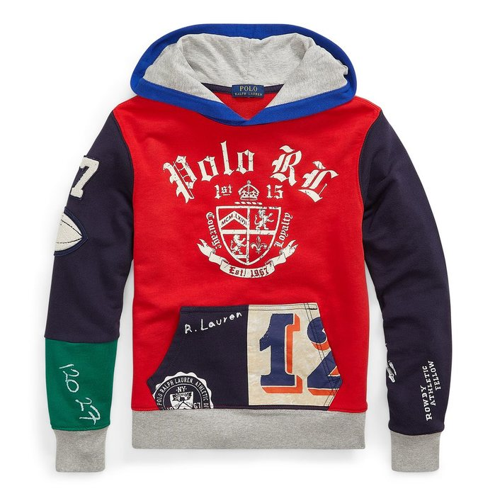 画像1: POLO RALPH LAUREN BOYS   cotton french terry hoodie (1)