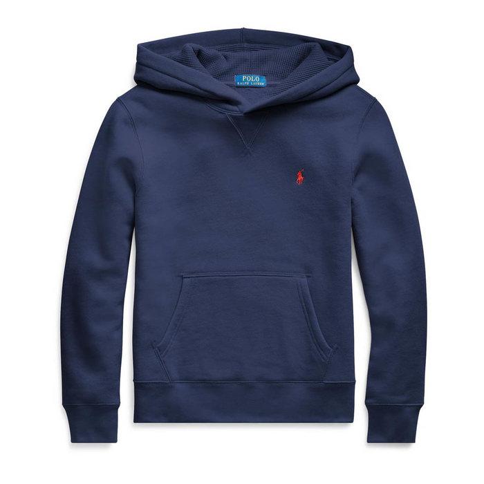 画像1: POLO RALPH LAUREN BOYS   cotton-blend-fleece hoodie (XL) 2color (1)