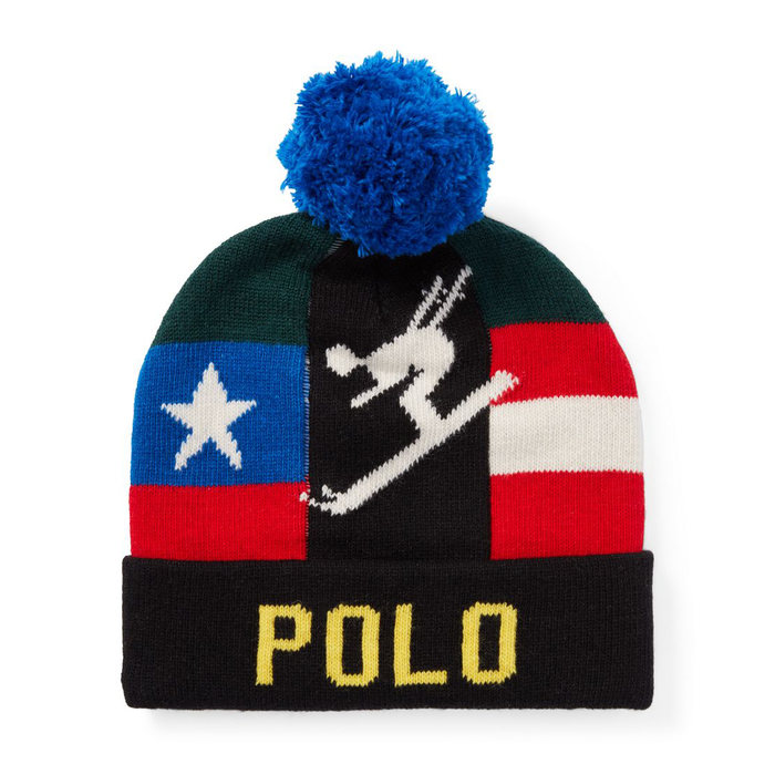画像1: POLO RALPH LAUREN   downhill skier hat (1)