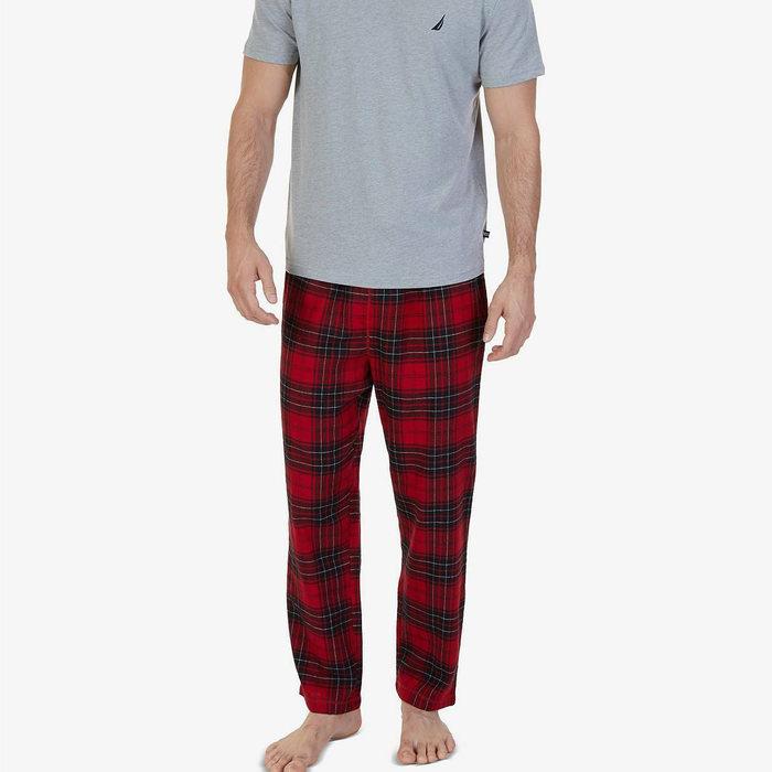 画像1: NAUTICA   Lightweight Sueded Fleece Pajama Pants  (1)