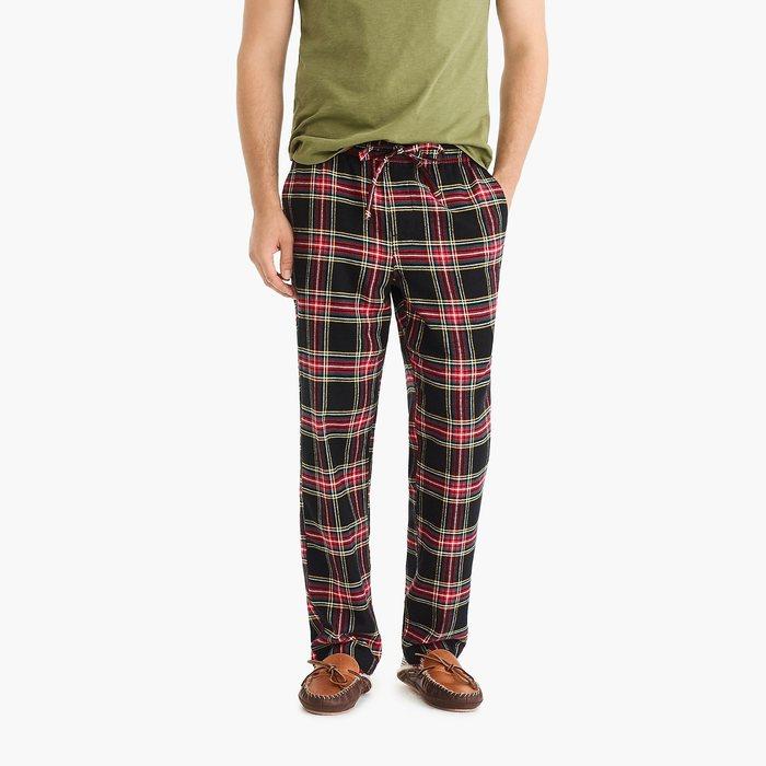 画像1: J.CREW   Flannel pajama pant in Stewart tartan (S) (1)