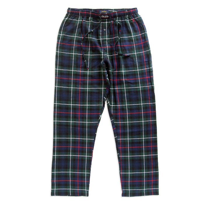 画像1: POLO RALPH LAUREN   plaid flannel pajama pant (1)