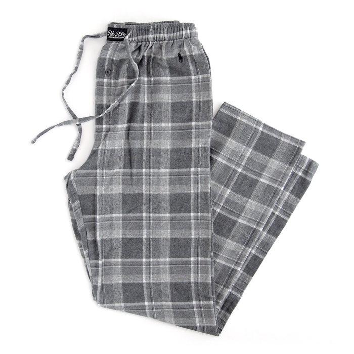 画像1: POLO RALPH LAUREN   plaid flannel pajama pant (1)