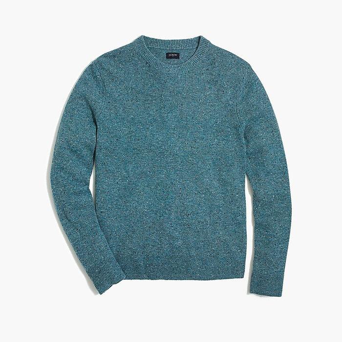 画像1: J.CREW   Crewneck sweater in donegal wool blend 2color (1)