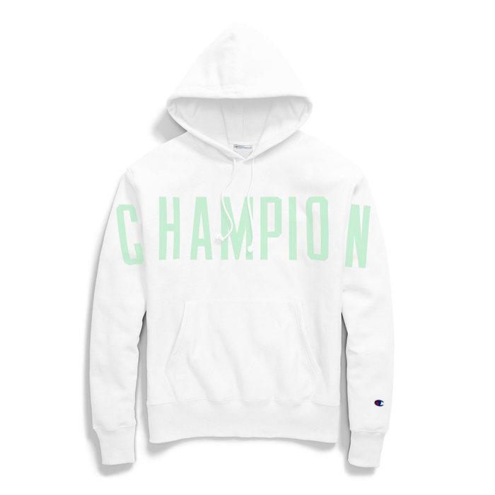 画像1: Champion    Reverse Weave Back Arch Logo Pullover hoodie 4color (1)