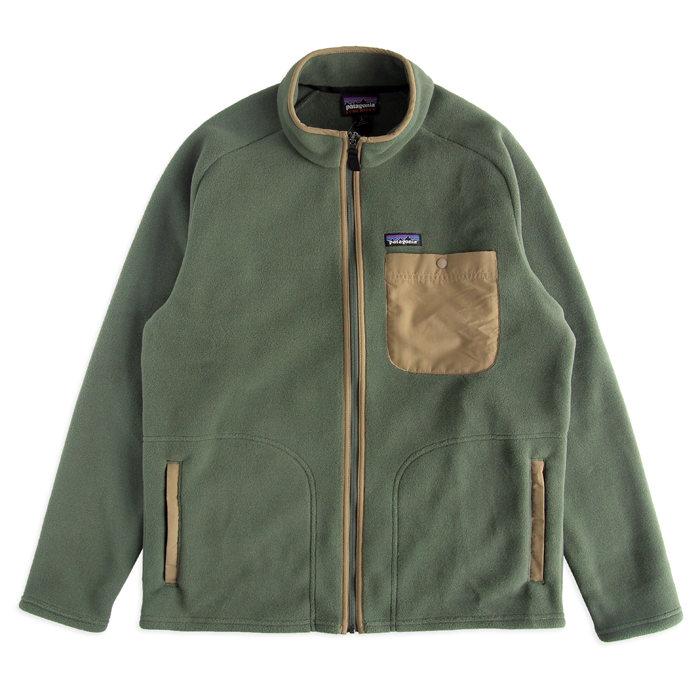 画像1: Patagonia  Karstens Fleece Jacket INDUSTRIAL GREEN  (1)