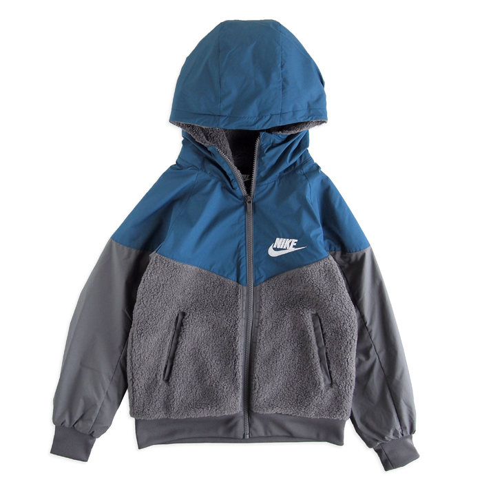 画像1: NIKE BOYS  sherpa windrunner (BOYS S) (1)